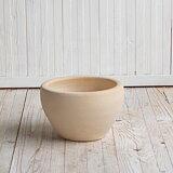 サフィ E26W Sサイズ  ≪植木鉢/陶器/白系テラコッタ/素焼き鉢≫