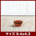 常滑焼 駄温鉢 浅 3号  ≪和風の植木鉢/日本製/陶器/素焼き鉢系/国産≫