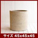 サンディス シリンダー 45 ≪大型植木鉢/陶器・テラコッタより軽量なポリストーンプランター≫