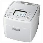 三菱 NJ-VX107-W/ピュアホワイト IHジャー炊飯器(5.5合炊き) 備長炭 炭炊釜【送料無料】