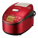日立 RZ-BV100M-R/メタリックレッド 圧力スチームIHジャー炊飯器(5.5合炊き) 圧力スチーム炊き ふっくら御膳【送料無料】