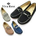 ドライビングシューズ Viva Rose モカシン デッキシューズ 靴 レディース 22.5cm 23cm 23.5cm 24cm 24.5cm 25cm