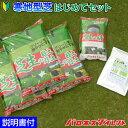 寒地型芝はじめてセット 20平米(6坪)分 (芝生の種 ダイヤモンドグリーン、目土・床土 3袋、芝生の肥料 700g) 初心者向き
