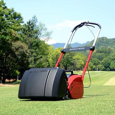 ゴルフ場トップシェアバロネスコードレス自走式芝刈り機LMB12【送料無料】