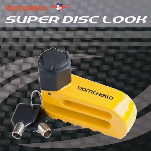 Barrichello(バリチェロ)スーパーディスクロック 盗難防止 セキュリティ ディスクロック R 保証付き