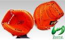 ◆送料無料◆伸び盛りの選手へ◆'12NEWモデル◆ジームス軟式キャッチャーミット(小型)◆SV-110CM-YN(Rオレンジ)
