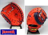 ◆送料無料◆タマザワ・ソフトボール用キャッチャーミット兼ファーストミット(中型)≪ヒーローズフィールド≫TSF-R155WD