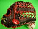 型付け無料 海外メーカー BMC ビーエムシー 硬式野球用 外野用 レッド×ブラック 大きめサイズ12.75インチ Baseball Members Club