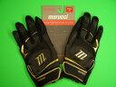 マルチ Marucci marucci Pittards Signature Series Batting Gloves ブラック×ゴールド