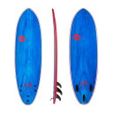 "SOFTECH サーフボード 6'0"" FLASH ERIC GEISELMAN BLUE/MARBLE PERFORMANCE SOFTBOARD 【2019 ソフテック 】 SURFBOARD ソフトボード.."