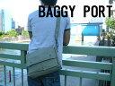 ● b1060 BAGGY PORT/バギーポート ロウ引き 帆布 ショルダーバッグ横型◆bagg/b-sh ACR-458
