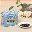 楽天BASILUR TEA JAPANSpring Flowers 【花 ギフト/内祝い/紅茶/プレゼント/セイロンティー/茶葉/フレーバーティー/かわいい/バスケット/缶/アイスティー/水出し】