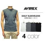 AVIREX(アビレックス)ノースリーブ リブTシャツ