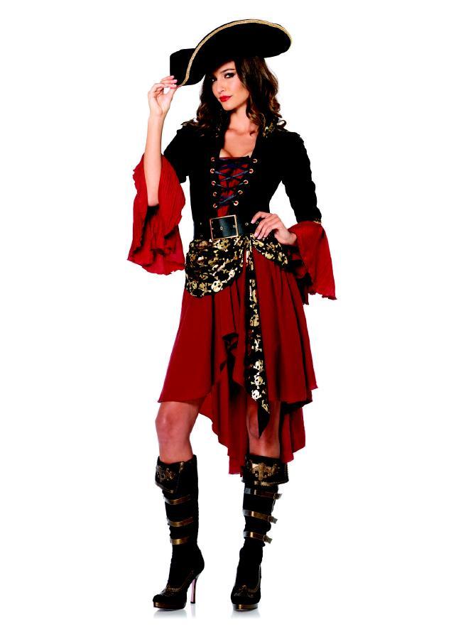 85214クールな女海賊コスチューム【2点セット】大人用 コスプレ衣装 /LEG AVENUEレッグアベニュー コスプレ・仮装・ハロウィン・女性・大人用02P03Sep16