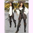 4243スワッシュバックラーデラックス6ピースセット海賊パーティーハロウィン衣装/RomaCostumeローマコスプレ・仮装・ハロウィン・女性・大人用