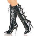 ショッピング SEDUCE-2033 5インチ(約13cm) ニーハイブーツ /Pleaserプリーザー パーティードレス 靴 大きいサイズ