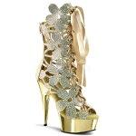 DELIGHT-600-366インチ(約15cm)ハイヒールブーツブーディー/Pleaserプリーザーパーティー靴シンデレラサイズ大きい【送料無料】