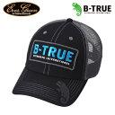 ●エバーグリーン EVERGREEN B-TRUE ビートゥルー トラッカーキャップ ブラック/ダークグレー