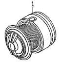 ●ダイワ XファイアLBD2508PE-H-DH(4960652936231)用 純正標準スプール (部品コード128801) 【キャンセル及び返品不可商品】 【まとめ送料割】