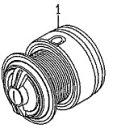 ●ダイワ XファイアLBD2510PE-SH(4960652936255)用 純正標準スプール (部品コード128803) 【キャンセル及び返品不可商品】