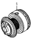 ●ダイワ 尾長モンスター4000LBD(4960652894494)用 純正標準スプール (部品コード128716) 【キャンセル及び返品不可商品】