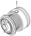 ●ダイワ 13プレイソ3000H-LBD(4960652932967)用 純正標準スプール (部品コード128789) 【キャンセル及び返品不可商品】