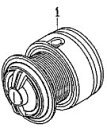●ダイワ 13トライソ3000H-LBD(4960652921657)用 純正標準スプール (部品コード128784) 【キャンセル及び返品不可商品】
