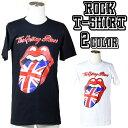 ロックTシャツ 半袖 The Rolling Stones Tシャツ ローリングストーンズ ユニオン...