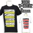 ロックTシャツ Paramore Tシャツ パラモア 半袖 ...