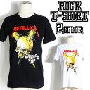 ロックTシャツ 半袖 Metallica Tシャツ メタリカ...