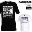 ロックTシャツ Radiohead Tシャツ レディオヘッド...