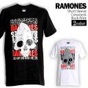 ロックTシャツ RAMONES Tシャツ ラモーンズ 半袖 バンドTシャツ ロゴ メンズ ユニセック...