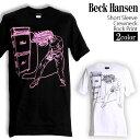 ロックTシャツ 半袖 Beck Tシャツ ベック バンドTシャツ メンズ レディース ロックT バンドT バンT ロゴ バンド ロゴT ダンス ミュージック ファッション ROCK ブラック ホワイト 黒 白 ヘヴィメタ コットン 綿 100% 春夏 夏物 おしゃれ