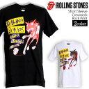 ロックTシャツ 半袖 The Rolling Stones Tシャツ ローリングストーンズ リップタン バンドTシャツ メンズ レディース ロックT バンドT バンT ロゴ 衣装 ストリート ダンス ミュージック ファッション ROCK ブラック ホワイト 黒 白 コットン 綿 100 春夏 秋 おしゃれ