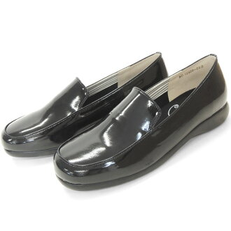 牙釉質 BC12930bl 可愛雨鞋。 簡單的滑。 褲吧! (婦女滑鞋時尚雨鞋 22 釐米 23 24 黑黑膠鞋穿雨磨損! 流行成人 10P23Sep15