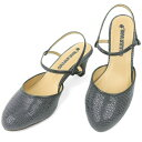 No.444211 クロールバリエ アンクルストラップ ミュール グレースモールクロコ (レディース ファッション 女性用 ミュール サンダル おしゃれ 草履 ぞうり かわいい 婦人靴 通販 楽天) 10P03Dec16