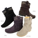No.478259 クロールバリエ スタッズ ショートブーツ (レディース ファッション 女性用 ブーティー ブーティ ショートブーツ ブーツ 靴 おしゃれ かわいい ショート ぶーティー 婦人靴 通販 楽天 防寒 寒さ対策 10P18Jun16
