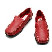 CO6002-37 カラー,サイズが豊富!定番モカシンローファー(レディース 婦人靴 モカシン ローファー ローファ カジュアル シューズ 可愛い かわいい おしゃれ 21.5cm 小さい靴 22 23 24 25 大きい レッド 赤 オペラシューズ)