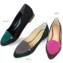 No.460252 クロールバリエ バイカラー ポインテッドトゥ パンプス (レディース 女性用 パンプス シューズ 靴 可愛い かわいい おしゃれ 婦人靴 通販 楽天) 10P06Aug16