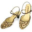 No.444211 クロールバリエ アンクルストラップ ミュール ハートパンサー (レディース ファッション 女性用 ミュール サンダル おしゃれ 草履 ぞうり かわいい 婦人靴 通販 楽天) 10P03Dec16