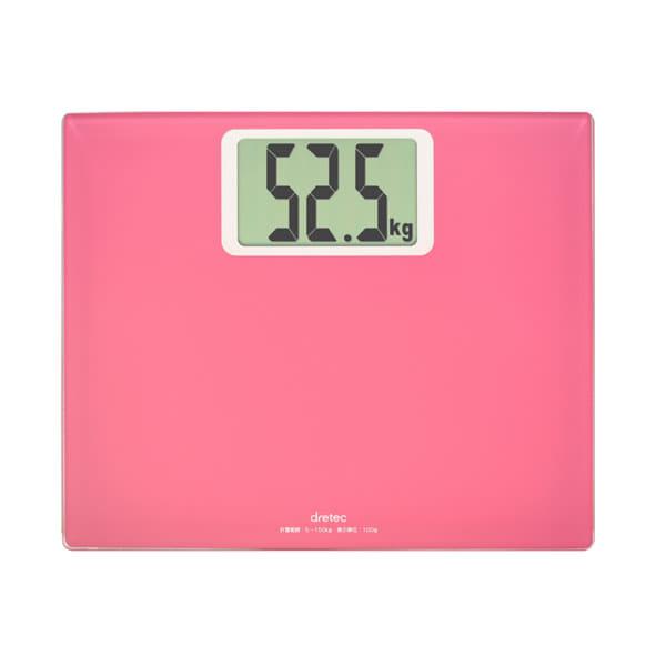 体重計「ボディスケール」グランデ(ピンク)【体重...の商品画像