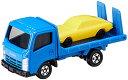 【9/25限定★エントリーでポイント11倍】いすゞ エルフ 車両運搬車(ブルー) 「トミカ No.60」