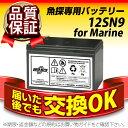 12SN9 for Marine【新品】 ■  ■ スーパーナット【保証書付き】HONDEX(ホンデックス)BS06、BS07など対応【魚探専用バッテリー】