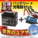 バイクバッテリー充電器+台湾ユアサYTX5L-BS セット 台湾製■■ボルティクス・スーパーナット【送料無料】【特別割引】グランドアクシス、ストマジ110、VOX XF50、アドレス110、XR250、スピードファイト、アドレスV100【バイクバッテリー】