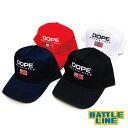"【DOPE (ドープ)】 SNAPBACK CAP (スナップバックキャップ) ""DOPE SPORT SNAPBACK CAP [16DP-SPRTCP]"" ..."