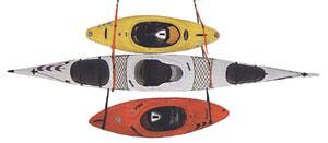 Wildwassersportウォールラック2艇用/アウトドアスポーツマリンスポーツレジャー水遊びカ