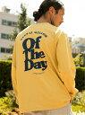[Rakuten Fashion](M)グラフィックTEELS BAYFLOW ベイフロー カットソー Tシャツ イエロー ホワイト ピンク【送料無料】