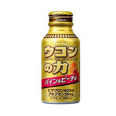 ウコンの力パイン&ピーチ味100ml×6本入 【正規品】