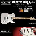 シェクター SCHECTER / TR-PT / テレキャスタータイプ エレキギター TRADシリーズ / ボディ材、カラー、指板選択可 ハードケース付