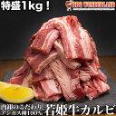 焼肉 肉 わけあり カルビ 1kg 訳あり 牛肉 アンガス牛 アンガスビーフ バーベキュー bbq 焼き肉 厚切り 牛ばらカルビ1kg 若姫牛